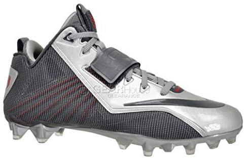 Nike CJ Elite 2 TD Mid Football Cleats